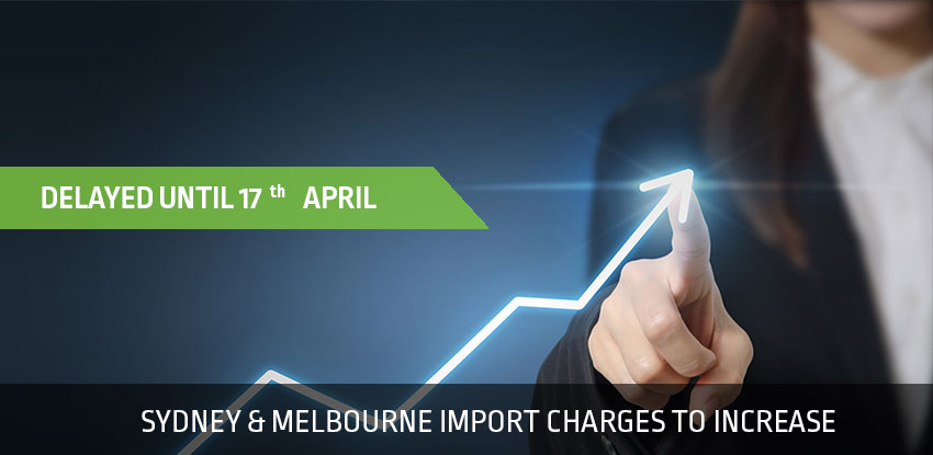 Port Charge Increase Delayed