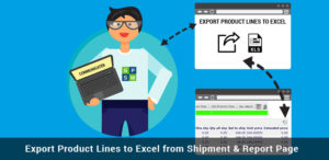 Export product links to Excel