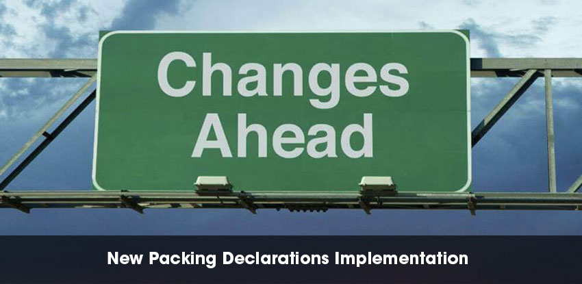 New Packing Declarations Implementation
