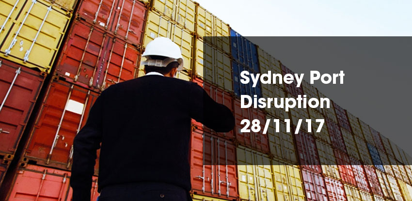 Sydney Port Disruption News