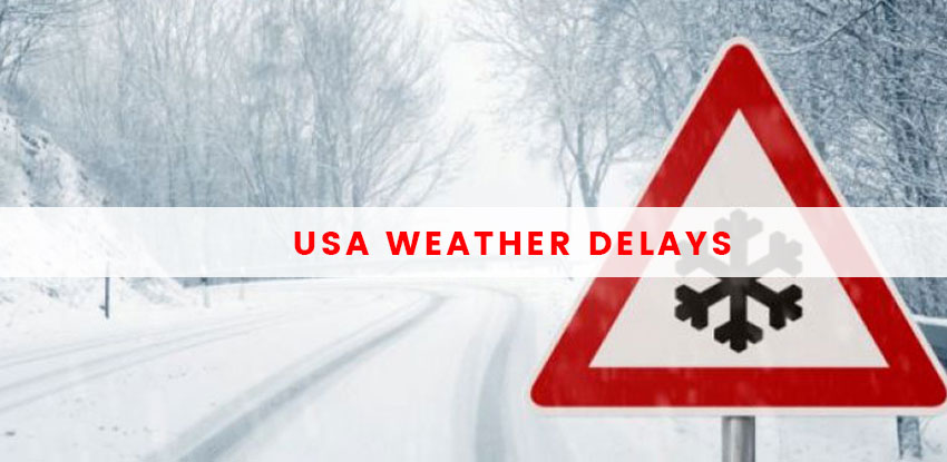 USA Weather Delays