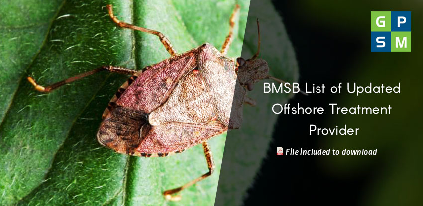 BMSB List of Updated Offshore Treatment Provider