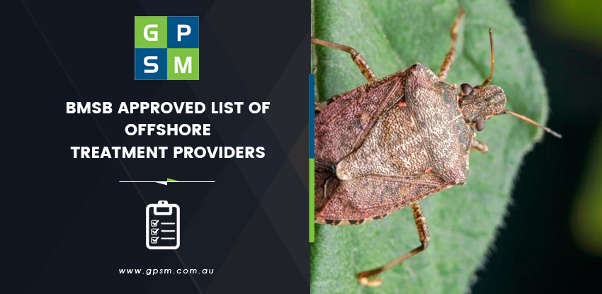 Approved List of Offshore BMSB Treatment Providers