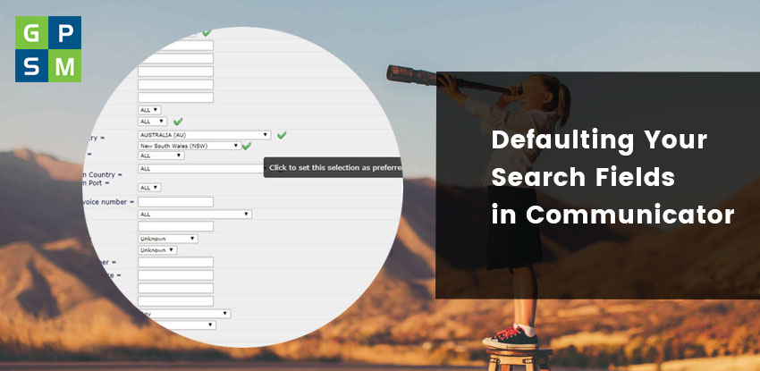 Defaulting your search fields