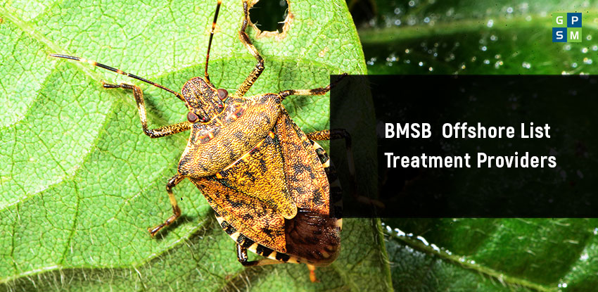 BMSB Offshore List Treatment Providers Update