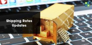 Shipping rate updates 2019