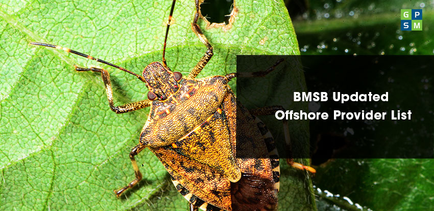BMSB Updated Offshore Provider List