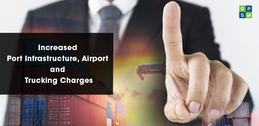 Increased Port Infrastructure, Airport and Trucking Charges
